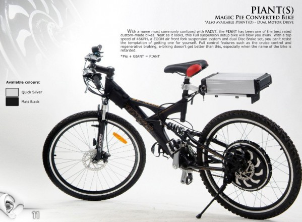 piant-electric-bike