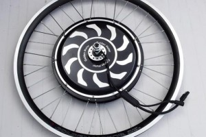 "Golden Motors Magic Pie 26"" spoked wheel"