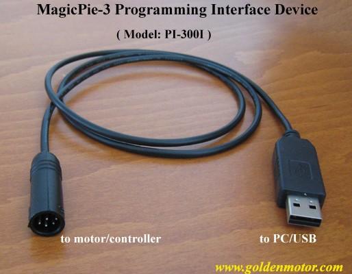 สาย USB สำหรับโปรแกรม Magic Pie 2,3 และ Prokit 901,902