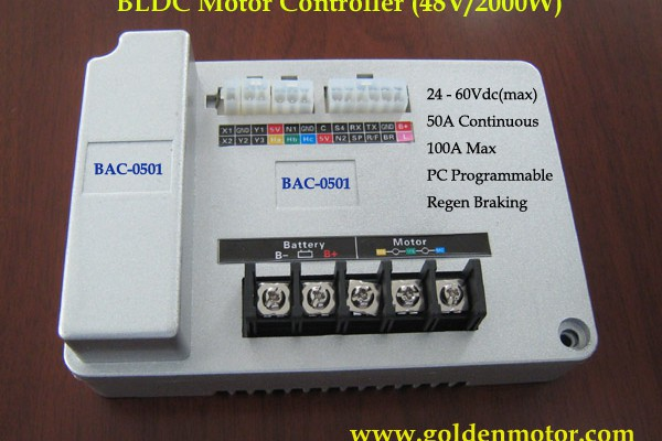 ชุดควบคุมสกู๊ตเตอร์ไฟฟ้า มอเตอร์ไซค์ไฟฟ้า 48V 2000W