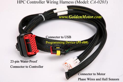 ชุดสายไฟสำหรับชุดควบคุมตระกูล HPC
