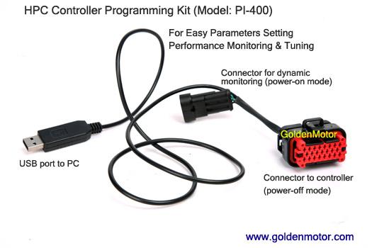 PI400 สายโปรแกรมสำหรับชุดควบคุมตระกูล HPC