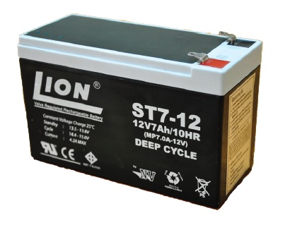 12V 7AH Deep Charge eBikrcom
