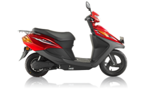 red_honda_electric scotter