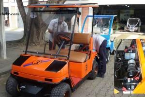 Golf car 2