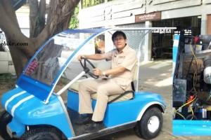 Golf car 3