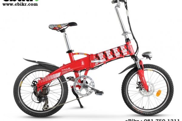 จักรยานไฟฟ้าพับได้ TAILG รุ่น Joy (TG-TDN136Z) ขนาดล้อ 20 นิ้ว
