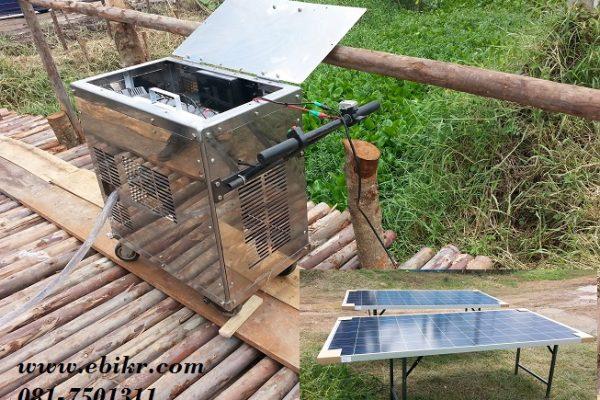 โซล่าปั๊มน้ำ (Portable Solar Pump)