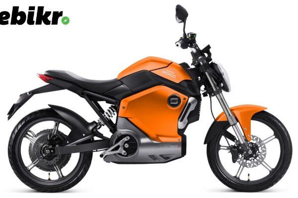 จักรยานยนต์ไฟฟ้า Super SOCO รุ่น TS1200R